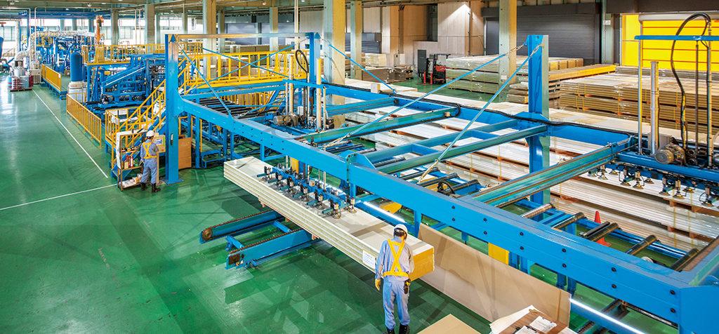 栃木工場 全自動一貫製造ライン